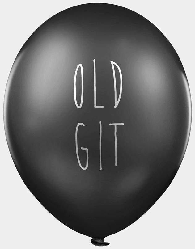Old Git Balloons