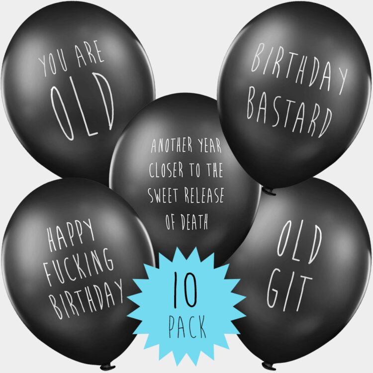 Adult Rude Balloon Funny Novelty Gift His Her 50 LOCKDOWN BIRTHDAY BALLOONS